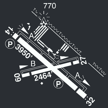 Airport Runway Diagram